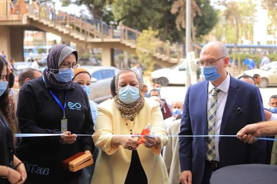 افتتاح سوق الخير بتجارة عين شمس