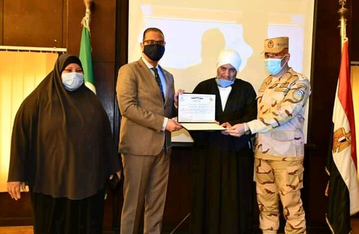"""محافظ الفيوم ورئيس أركان قوات الدفاع الشعبي يشهدان بدء فعاليات التدريب المشترك """"صقر 7"""